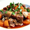 Мясо «по-бургунски»